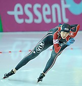Subject: Peiyu Jin; Tags: Athlet, Athlete, Sportler, Wettkämpfer, Sportsman, CHN, China, Volksrepublik China, Damen, Ladies, Frau, Mesdames, Female, Women, Eisschnelllauf, Speed skating, Schaatsen, Peiyu Jin, Sport; PhotoID: 2010-11-19-0203