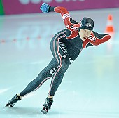 Subject: Peiyu Jin; Tags: Athlet, Athlete, Sportler, Wettkämpfer, Sportsman, CHN, China, Volksrepublik China, Damen, Ladies, Frau, Mesdames, Female, Women, Eisschnelllauf, Speed skating, Schaatsen, Peiyu Jin, Sport; PhotoID: 2010-11-19-0206