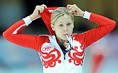 Subject: Elena Sokhryakova; Tags: Athlet, Athlete, Sportler, Wettkämpfer, Sportsman, Damen, Ladies, Frau, Mesdames, Female, Women, Eisschnelllauf, Speed skating, Schaatsen, Jelena Sokhrjakova, RUS, Russian Federation, Russische Föderation, Russia, Sport; PhotoID: 2010-11-20-0174