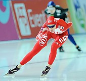 Subject: Elena Sokhryakova; Tags: Athlet, Athlete, Sportler, Wettkämpfer, Sportsman, Damen, Ladies, Frau, Mesdames, Female, Women, Eisschnelllauf, Speed skating, Schaatsen, Jelena Sokhrjakova, RUS, Russian Federation, Russische Föderation, Russia, Sport; PhotoID: 2010-11-20-0193