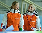 Subject: Pien Keulstra, Irene Schouten; Tags: Sport, NED, Netherlands, Niederlande, Holland, Dutch, Irene Schouten, Eisschnelllauf, Speed skating, Schaatsen, Damen, Ladies, Frau, Mesdames, Female, Women, Athlet, Athlete, Sportler, Wettkämpfer, Sportsman, 2010-2011; PhotoID: 2010-11-20-0473