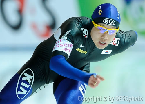 Joon Moon; Tags: Athlet, Athlete, Sportler, Wettkämpfer, Sportsman, Eisschnelllauf, Speed skating, Schaatsen, Herren, Men, Gentlemen, Mann, Männer, Gents, Sirs, Mister, Joon Moon, KOR, South Korea, Südkorea, Sport; PhotoID: 2010-11-20-0494