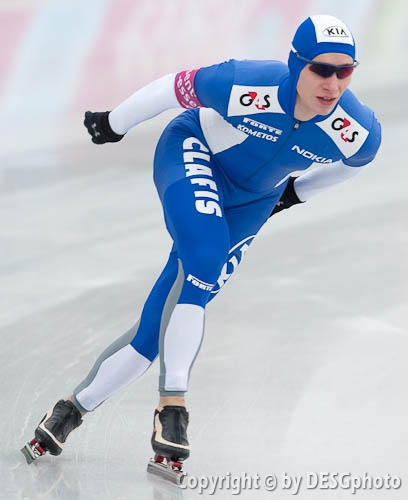 Niko Räsänen; Tags: Sport, Niko Räsänen, Herren, Men, Gentlemen, Mann, Männer, Gents, Sirs, Mister, FIN, Finland, Finnland, Eisschnelllauf, Speed skating, Schaatsen, Athlet, Athlete, Sportler, Wettkämpfer, Sportsman; PhotoID: 2011-01-07-0711