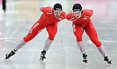 Subject: Henrik Christiansen, Sverre Lunde Pedersen; Tags: Athlet, Athlete, Sportler, Wettkämpfer, Sportsman, Eisschnelllauf, Speed skating, Schaatsen, Henrik Christiansen, Herren, Men, Gentlemen, Mann, Männer, Gents, Sirs, Mister, NOR, Norway, Norwegen, Sport, Sverre Lunde Pedersen; PhotoID: 2011-01-07-1625