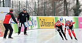 Subject: Anna Rokita, Isabell Ost; Tags: AUT, Austria, Österreich, Anna Rokita, Athlet, Athlete, Sportler, Wettkämpfer, Sportsman, Damen, Ladies, Frau, Mesdames, Female, Women, Eisschnelllauf, Speed skating, Schaatsen, GER, Germany, Deutschland, Isabell Ost, Sport; PhotoID: 2011-01-08-1891