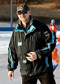 Subject: André Hoffmann; Tags: André Hoffmann, Eisschnelllauf, Speed skating, Schaatsen, GER, Germany, Deutschland, Sport, Trainer, Coach, Betreuer; PhotoID: 2011-01-28-0101