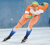 Subject: Pien Keulstra; Tags: Athlet, Athlete, Sportler, Wettkämpfer, Sportsman, Damen, Ladies, Frau, Mesdames, Female, Women, Eisschnelllauf, Speed skating, Schaatsen, NED, Netherlands, Niederlande, Holland, Dutch, Pien Keulstra, Sport; PhotoID: 2011-01-29-0176