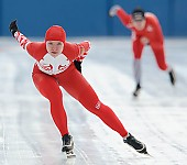Subject: Alesja Tsjernega; Tags: Sport, RUS, Russian Federation, Russische Föderation, Russia, Eisschnelllauf, Speed skating, Schaatsen, Damen, Ladies, Frau, Mesdames, Female, Women, Athlet, Athlete, Sportler, Wettkämpfer, Sportsman, Alesja Tsjernega; PhotoID: 2011-01-29-0532