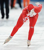 Subject: Angelina Golikova; Tags: Sport, RUS, Russian Federation, Russische Föderation, Russia, Eisschnelllauf, Speed skating, Schaatsen, Damen, Ladies, Frau, Mesdames, Female, Women, Athlet, Athlete, Sportler, Wettkämpfer, Sportsman, Angelina Golikova; PhotoID: 2011-01-29-0746