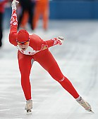 Subject: Angelina Golikova; Tags: Sport, RUS, Russian Federation, Russische Föderation, Russia, Eisschnelllauf, Speed skating, Schaatsen, Damen, Ladies, Frau, Mesdames, Female, Women, Athlet, Athlete, Sportler, Wettkämpfer, Sportsman, Angelina Golikova; PhotoID: 2011-01-29-0747