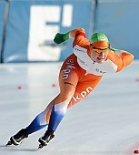Subject: Pien Keulstra; Tags: Sport, Pien Keulstra, NED, Netherlands, Niederlande, Holland, Dutch, Eisschnelllauf, Speed skating, Schaatsen, Damen, Ladies, Frau, Mesdames, Female, Women, Athlet, Athlete, Sportler, Wettkämpfer, Sportsman; PhotoID: 2011-01-30-0069