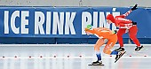 Subject: Alesja Tsjernega, Reina Anema; Tags: Sport, Reina Anema, RUS, Russian Federation, Russische Föderation, Russia, NED, Netherlands, Niederlande, Holland, Dutch, Eisschnelllauf, Speed skating, Schaatsen, Damen, Ladies, Frau, Mesdames, Female, Women, Athlet, Athlete, Sportler, Wettkämpfer, Sportsman, Alesja Tsjernega; PhotoID: 2011-01-30-0311