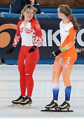 Subject: Alesja Tsjernega, Reina Anema; Tags: Sport, Reina Anema, RUS, Russian Federation, Russische Föderation, Russia, NED, Netherlands, Niederlande, Holland, Dutch, Eisschnelllauf, Speed skating, Schaatsen, Damen, Ladies, Frau, Mesdames, Female, Women, Athlet, Athlete, Sportler, Wettkämpfer, Sportsman, Alesja Tsjernega; PhotoID: 2011-01-30-0322