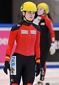 Subject: Bianca Walter; Tags: Athlet, Athlete, Sportler, Wettkämpfer, Sportsman, Bianca Walter, Damen, Ladies, Frau, Mesdames, Female, Women, GER, Germany, Deutschland, Shorttrack, Short Track, Sport; PhotoID: 2011-02-18-0094