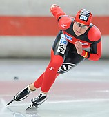 Subject: Jenny Wolf; Tags: Eisschnelllauf, Speed skating, Schaatsen, Damen, Ladies, Frau, Mesdames, Female, Women, Athlet, Athlete, Sportler, Wettkämpfer, Sportsman, Sport, Jenny Wolf, GER, Germany, Deutschland; PhotoID: 2011-07-29-0119