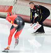 Subject: Klaus Ebert; Tags: Eisschnelllauf, Speed skating, Schaatsen, GER, Germany, Deutschland, Klaus Ebert, Sport, Trainer, Coach, Betreuer; PhotoID: 2011-11-04-0450