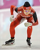Subject: Shuai Qi; Tags: Sport, Shuai Qi, Eisschnelllauf, Speed skating, Schaatsen, Damen, Ladies, Frau, Mesdames, Female, Women, CHN, China, Volksrepublik China, Athlet, Athlete, Sportler, Wettkämpfer, Sportsman; PhotoID: 2012-03-02-1017
