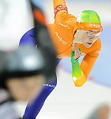 Subject: Laurine van Riessen; Tags: Sport, NED, Netherlands, Niederlande, Holland, Dutch, Laurine van Riessen, Eisschnelllauf, Speed skating, Schaatsen, Damen, Ladies, Frau, Mesdames, Female, Women, Athlet, Athlete, Sportler, Wettkämpfer, Sportsman; PhotoID: 2012-03-02-1059