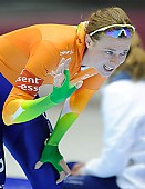 Subject: Marije Joling; Tags: Sport, NED, Netherlands, Niederlande, Holland, Dutch, Marije Joling, Eisschnelllauf, Speed skating, Schaatsen, Damen, Ladies, Frau, Mesdames, Female, Women, Athlet, Athlete, Sportler, Wettkämpfer, Sportsman; PhotoID: 2012-03-02-1261