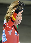 Subject: Claudia Pechstein; Tags: Sport, GER, Germany, Deutschland, Eisschnelllauf, Speed skating, Schaatsen, Damen, Ladies, Frau, Mesdames, Female, Women, Claudia Pechstein, Athlet, Athlete, Sportler, Wettkämpfer, Sportsman; PhotoID: 2012-03-04-0267