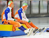 Subject: Kjeld Nuis, Stefan Groothuis; Tags: Athlet, Athlete, Sportler, Wettkämpfer, Sportsman, Eisschnelllauf, Speed skating, Schaatsen, Herren, Men, Gentlemen, Mann, Männer, Gents, Sirs, Mister, Kjeld Nuis, NED, Netherlands, Niederlande, Holland, Dutch, Sport, Stefan Groothuis; PhotoID: 2012-03-09-0580