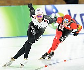 Subject: Marco Weber, Shane Dobbin; Tags: Sport, Shane Dobbin, NLZ, New Zealand, Neuseeland, Marco Weber, Herren, Men, Gentlemen, Mann, Männer, Gents, Sirs, Mister, GER, Germany, Deutschland, Eisschnelllauf, Speed skating, Schaatsen, Athlet, Athlete, Sportler, Wettkämpfer, Sportsman; PhotoID: 2012-03-11-0505