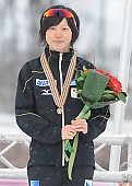 Subject: Miho Takagi; Tags: Sport, Siegerehrung, Victory ceremony, Preisverleihung, Ehrung, Award ceremony, Award, Prize Giving, Miho Takagi, JPN, Japan, Nippon, Eisschnelllauf, Speed skating, Schaatsen, Detail, Damen, Ladies, Frau, Mesdames, Female, Women, Athlet, Athlete, Sportler, Wettkämpfer, Sportsman; PhotoID: 2013-02-24-0465