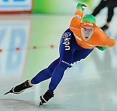 Subject: Ireen Wüst; Tags: Athlet, Athlete, Sportler, Wettkämpfer, Sportsman, Damen, Ladies, Frau, Mesdames, Female, Women, Eisschnelllauf, Speed skating, Schaatsen, Ireen Wüst, NED, Netherlands, Niederlande, Holland, Dutch, Sport; PhotoID: 2013-03-02-0590