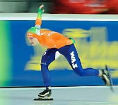 Subject: Ireen Wüst; Tags: Athlet, Athlete, Sportler, Wettkämpfer, Sportsman, Damen, Ladies, Frau, Mesdames, Female, Women, Eisschnelllauf, Speed skating, Schaatsen, Ireen Wüst, NED, Netherlands, Niederlande, Holland, Dutch, Sport; PhotoID: 2013-03-02-0593