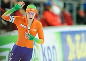 Subject: Ireen Wüst; Tags: Athlet, Athlete, Sportler, Wettkämpfer, Sportsman, Damen, Ladies, Frau, Mesdames, Female, Women, Eisschnelllauf, Speed skating, Schaatsen, Ireen Wüst, NED, Netherlands, Niederlande, Holland, Dutch, Sport; PhotoID: 2013-03-02-0597