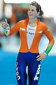 Subject: Ireen Wüst; Tags: Athlet, Athlete, Sportler, Wettkämpfer, Sportsman, Damen, Ladies, Frau, Mesdames, Female, Women, Eisschnelllauf, Speed skating, Schaatsen, Ireen Wüst, NED, Netherlands, Niederlande, Holland, Dutch, Sport; PhotoID: 2013-03-02-0599