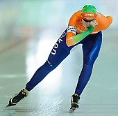 Subject: Lotte van Beek; Tags: Athlet, Athlete, Sportler, Wettkämpfer, Sportsman, Damen, Ladies, Frau, Mesdames, Female, Women, Eisschnelllauf, Speed skating, Schaatsen, Lotte van Beek, NED, Netherlands, Niederlande, Holland, Dutch, Sport; PhotoID: 2013-03-02-0600