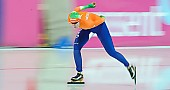 Subject: Lotte van Beek; Tags: Athlet, Athlete, Sportler, Wettkämpfer, Sportsman, Damen, Ladies, Frau, Mesdames, Female, Women, Eisschnelllauf, Speed skating, Schaatsen, Lotte van Beek, NED, Netherlands, Niederlande, Holland, Dutch, Sport; PhotoID: 2013-03-02-0606