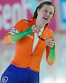 Subject: Lotte van Beek; Tags: Athlet, Athlete, Sportler, Wettkämpfer, Sportsman, Damen, Ladies, Frau, Mesdames, Female, Women, Eisschnelllauf, Speed skating, Schaatsen, Lotte van Beek, NED, Netherlands, Niederlande, Holland, Dutch, Sport; PhotoID: 2013-03-02-0611