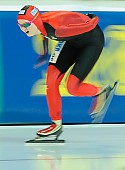 Subject: Jennifer Bay; Tags: Athlet, Athlete, Sportler, Wettkämpfer, Sportsman, Damen, Ladies, Frau, Mesdames, Female, Women, Eisschnelllauf, Speed skating, Schaatsen, GER, Germany, Deutschland, Jennifer Bay, Sport; PhotoID: 2013-03-02-0766