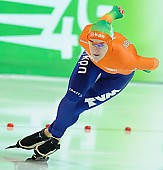 Subject: Ireen Wüst; Tags: Sport, NED, Netherlands, Niederlande, Holland, Dutch, Ireen Wüst, Eisschnelllauf, Speed skating, Schaatsen, Damen, Ladies, Frau, Mesdames, Female, Women, Athlet, Athlete, Sportler, Wettkämpfer, Sportsman; PhotoID: 2013-03-03-0286