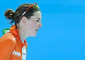 Subject: Ireen Wüst; Tags: Sport, NED, Netherlands, Niederlande, Holland, Dutch, Ireen Wüst, Eisschnelllauf, Speed skating, Schaatsen, Damen, Ladies, Frau, Mesdames, Female, Women, Athlet, Athlete, Sportler, Wettkämpfer, Sportsman; PhotoID: 2013-03-03-0298
