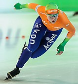 Subject: Laurine van Riessen; Tags: Athlet, Athlete, Sportler, Wettkämpfer, Sportsman, Damen, Ladies, Frau, Mesdames, Female, Women, Eisschnelllauf, Speed skating, Schaatsen, Laurine van Riessen, NED, Netherlands, Niederlande, Holland, Dutch, Sport; PhotoID: 2013-03-03-0324