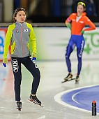 Subject: Seung-Joo Park; Tags: Athlet, Athlete, Sportler, Wettkämpfer, Sportsman, Damen, Ladies, Frau, Mesdames, Female, Women, Eisschnelllauf, Speed skating, Schaatsen, KOR, South Korea, Südkorea, Seung-Joo Park, Sport; PhotoID: 2013-12-06-0044