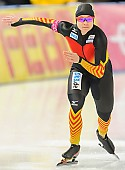 Subject: Denise Roth; Tags: Athlet, Athlete, Sportler, Wettkämpfer, Sportsman, Damen, Ladies, Frau, Mesdames, Female, Women, Denise Roth, Eisschnelllauf, Speed skating, Schaatsen, GER, Germany, Deutschland, Sport; PhotoID: 2013-12-06-0115