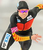Subject: Denise Roth; Tags: Athlet, Athlete, Sportler, Wettkämpfer, Sportsman, Damen, Ladies, Frau, Mesdames, Female, Women, Denise Roth, Eisschnelllauf, Speed skating, Schaatsen, GER, Germany, Deutschland, Sport; PhotoID: 2013-12-06-0117