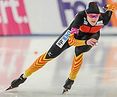 Subject: Denise Roth; Tags: Athlet, Athlete, Sportler, Wettkämpfer, Sportsman, Damen, Ladies, Frau, Mesdames, Female, Women, Denise Roth, Eisschnelllauf, Speed skating, Schaatsen, GER, Germany, Deutschland, Sport; PhotoID: 2013-12-06-0119