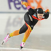 Subject: Jennifer Plate; Tags: Athlet, Athlete, Sportler, Wettkämpfer, Sportsman, Damen, Ladies, Frau, Mesdames, Female, Women, Eisschnelllauf, Speed skating, Schaatsen, GER, Germany, Deutschland, Jennifer Plate, Sport; PhotoID: 2013-12-06-0159