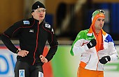 Subject: Denis Dressel, Mark Tuitert; Tags: Athlet, Athlete, Sportler, Wettkämpfer, Sportsman, Denis Dressel, Eisschnelllauf, Speed skating, Schaatsen, GER, Germany, Deutschland, Herren, Men, Gentlemen, Mann, Männer, Gents, Sirs, Mister, Mark Tuitert, NED, Netherlands, Niederlande, Holland, Dutch, Sport; PhotoID: 2013-12-06-0182