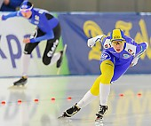 Subject: Johanna Östlund; Tags: Athlet, Athlete, Sportler, Wettkämpfer, Sportsman, Damen, Ladies, Frau, Mesdames, Female, Women, Eisschnelllauf, Speed skating, Schaatsen, Johanna Ostlund, SWE, Sweden, Schweden, Sport; PhotoID: 2013-12-06-0391