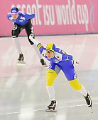 Subject: Johanna Östlund; Tags: Athlet, Athlete, Sportler, Wettkämpfer, Sportsman, Damen, Ladies, Frau, Mesdames, Female, Women, Eisschnelllauf, Speed skating, Schaatsen, Johanna Ostlund, SWE, Sweden, Schweden, Sport; PhotoID: 2013-12-06-0409