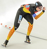 Subject: Jennifer Bay; Tags: Athlet, Athlete, Sportler, Wettkämpfer, Sportsman, Damen, Ladies, Frau, Mesdames, Female, Women, Eisschnelllauf, Speed skating, Schaatsen, GER, Germany, Deutschland, Jennifer Bay, Sport; PhotoID: 2013-12-06-0521