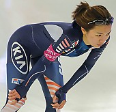 Subject: Seung-Joo Park; Tags: Athlet, Athlete, Sportler, Wettkämpfer, Sportsman, Damen, Ladies, Frau, Mesdames, Female, Women, Eisschnelllauf, Speed skating, Schaatsen, KOR, South Korea, Südkorea, Seung-Joo Park, Sport; PhotoID: 2013-12-07-0030