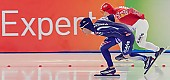 Subject: Hyeon-Yeong Kim, Julija Litejkina; Tags: Athlet, Athlete, Sportler, Wettkämpfer, Sportsman, Damen, Ladies, Frau, Mesdames, Female, Women, Eisschnelllauf, Speed skating, Schaatsen, Hyeon-Yeong Kim, Julija Litejkina, KOR, South Korea, Südkorea, RUS, Russian Federation, Russische Föderation, Russia, Sport; PhotoID: 2013-12-07-0034