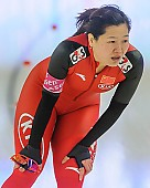 Subject: Shuang Zhang; Tags: Athlet, Athlete, Sportler, Wettkämpfer, Sportsman, CHN, China, Volksrepublik China, Damen, Ladies, Frau, Mesdames, Female, Women, Eisschnelllauf, Speed skating, Schaatsen, Shuang Zhang, Sport; PhotoID: 2013-12-07-0043